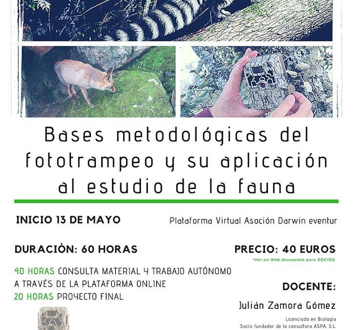 Bases metodológicas del fototrampeo y su aplicación al estudio de la fauna. ONLINE