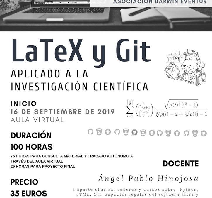 LaTeX y Git aplicado a la investigación científica. 2ª edición ONLINE