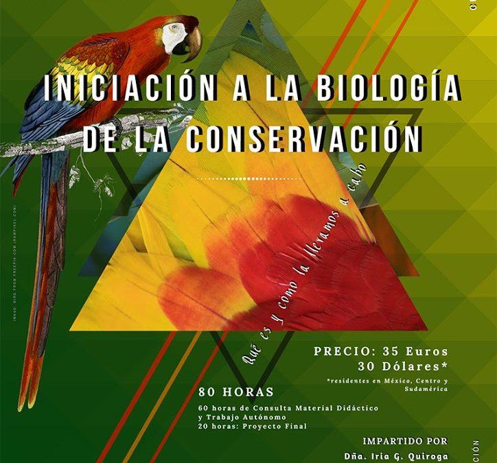 Iniciación a la Biología de la Conservación. VIRTUAL