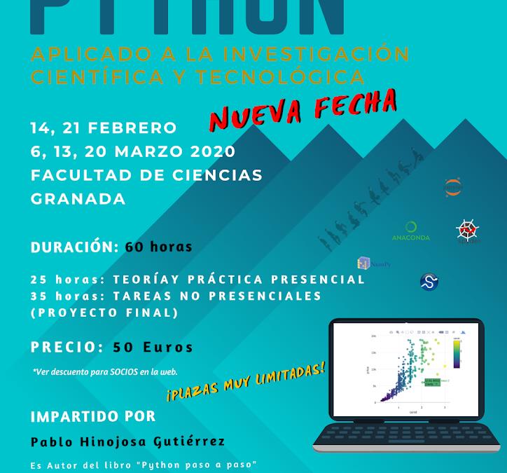 Python aplicado a la Investigación Científica y Tecnológica. 3ª edición