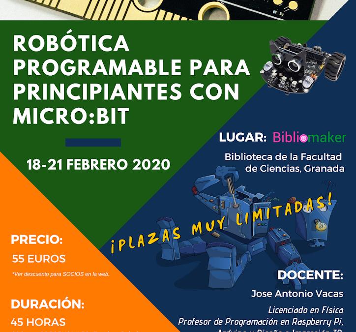 Robótica programable para principiantes con micro:bit