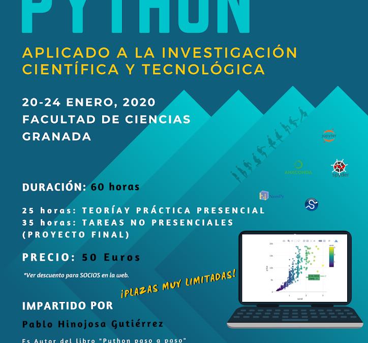 Python aplicado a la Investigación Científica y Tecnológica. 2ª edición